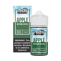 Reds ICED WATERMELON Apple Juice 7 Daze E Liquid 60ml $10.49 Vape - EJuice Connect