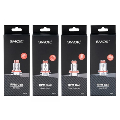 SMOK RPM Replacement Coils - 5 PK - $13.99  -  EJuice Connect