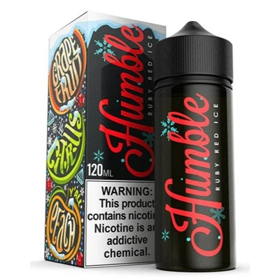 Ruby Red ICE E-Liquid by Humble Juice Co. 120mL Vapor $10.79 - EJuice Connect