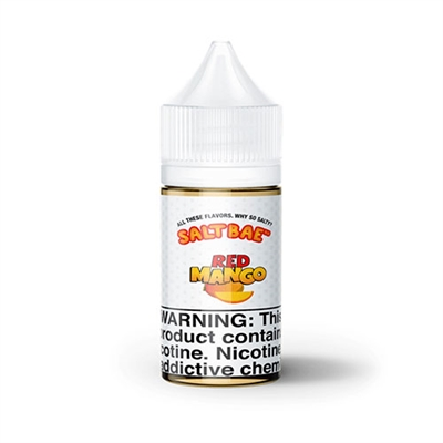 Red Mango by SaltBae50 - 30mL - Nicotine Salt Vape - Ejuice Connect