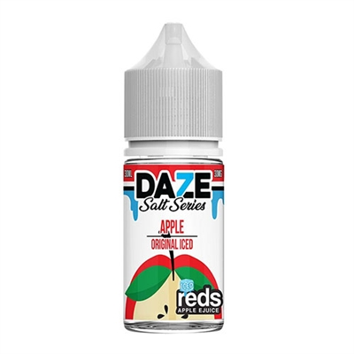 REDS Apple Juice Iced by 7 Daze SALT Series - 30ml - $11.99  - EJuice Connect