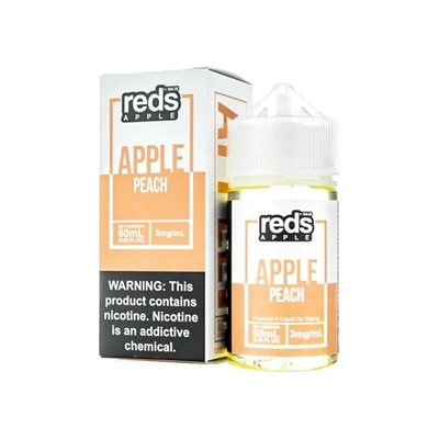 REDS Apple Peach E-Liquid by 7 Daze - 60ml $10.99  - EJuice Connect