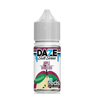 REDS Berries ICED Apple Juice by 7 Daze SALT Series - 30ml - $9.99  - EJuice Connect