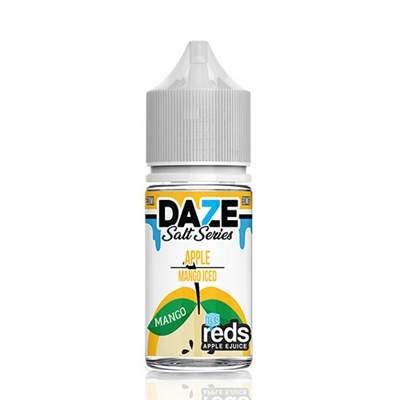 REDS Mango ICED Apple Juice by 7 Daze SALT Series - 30ml - $9.99  - EJuice Connect