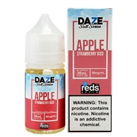 REDS Strawberry ICED Apple Juice by 7 Daze SALT Series - 30ml - EJuice Connect