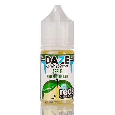 REDS Watermelon ICED Apple Juice by 7 Daze SALT Series - 30ml - $9.99  - EJuice Connect