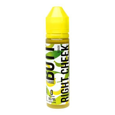 Right Cheek Banana Butt E Liquid by FRYD 60mL - $10.99 Banana Cream Vape - EJuice Connect