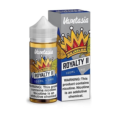 Vapetasia Royalty II E-Liquid - 100mL - $13.95 - EJuice Connect