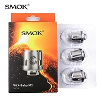 SMOK V8 X Baby M2 Core Coil Head for TFV8 Baby Tank - 3 PK Replacement Coils $11.99  - E Juice Connect
