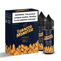 Tobacco Monster SMOOTH Salt Nicotine - 60ML (2x30mL) $11.99 - EJuice Connect