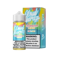 Strawberry Lemon Iced  by Cloud Nurdz E-Liquid - 100ml $10.99 - EJuice Connect