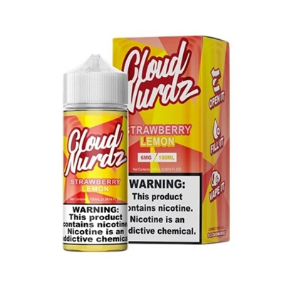 Strawberry Lemon by Cloud Nurdz E-Liquid - 100ml $10.99 - EJuice Connect