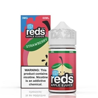 REDS Strawberry Iced Apple Juice by 7 Daze 60ml - 60ml $10.99  - EJuice Connect