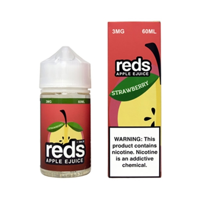 REDS Strawberry Apple Juice by 7 Daze 60ml - 60ml $10.99  - EJuice Connect
