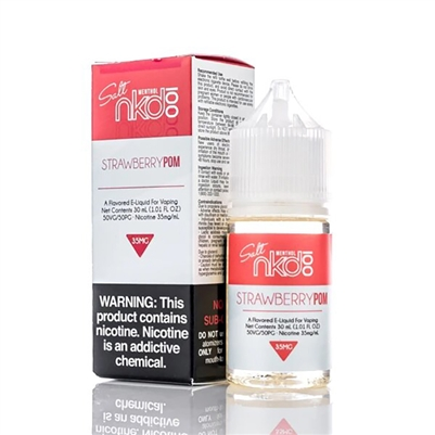 Strawberry Pom by NKD 100 (Brain Freeze) Salt Nic E-liquid - 30ml - EJuice Connect