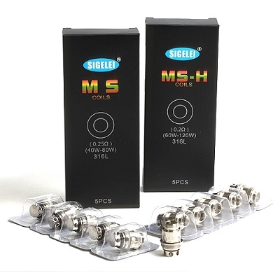 Sigelei MS Replacement Coils - 5 PK - $12.99 - Ejuice Connect