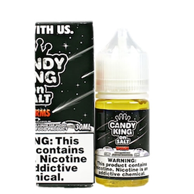 Sour Worms by Candy King on Salt - 30ml $9.99 - EJuice Connect
