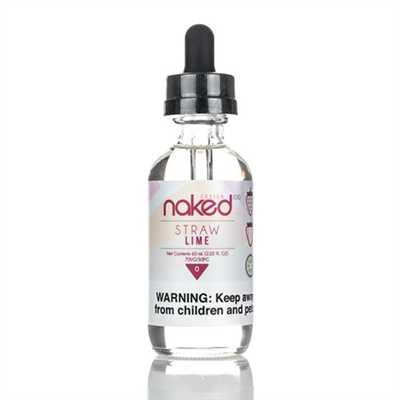 Straw Lime (Berry Belts) by Naked 100 Vape E-liquid 60mL $10.99 - EJuice Connect