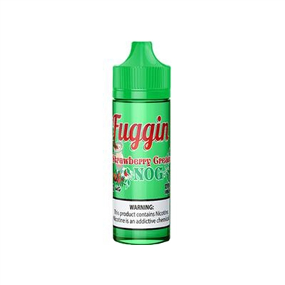 Strawberry Cream Nog by Fuggin Vapor Co Only $8.99 - EJuice Connect
