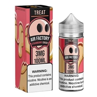 Treat Factory Strawberry Crush by Air Factory 100mL $11.89 - EJuice Connect