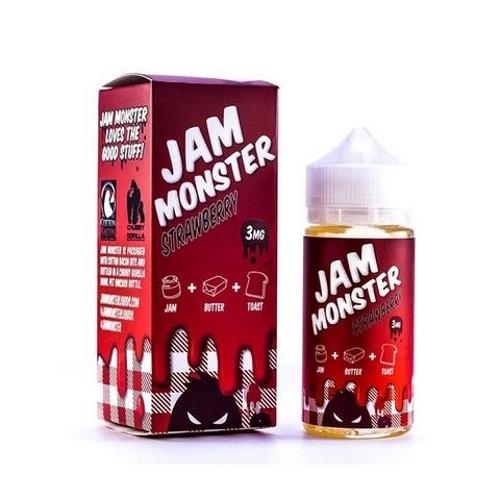 Monster Vape: Jam Monster Strawberry E-Liquid