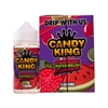Strawberry Watermelon Bubblegum by Candy King 100mL $11.99 E-Liquid - EJuice Connect