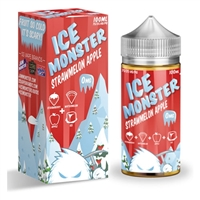 Ice Monster Strawmelon Apple by Jam Monster 100ml $12.99 Vape Liquid  - EJuice Connect