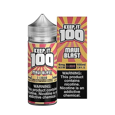 Tropical Blast by Keep it 100 E-Liquid - 100ml $8.99 - EJuice Connect