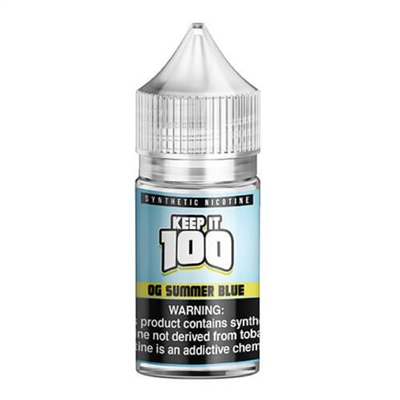 Tropical Blue Razz by Keep It 100 Salts - 30ml E-liquid Only $8.99 - Ejuice Connect