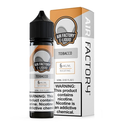 Tobacco by Air Factory E-Liquid 60mL $10.95 - EJuice Connect