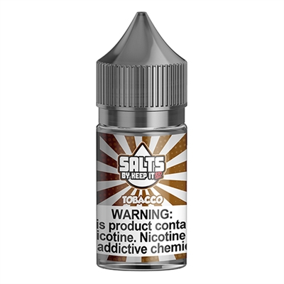 Tobacco by Keep It 100 Salts - 30ml E-liquid Only $8.99 - Ejuice Connect