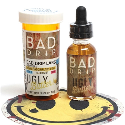 Ugly Butter by Bad Drip 60ml $11.79 - Top Selling Vape Juice - EJuice Connect