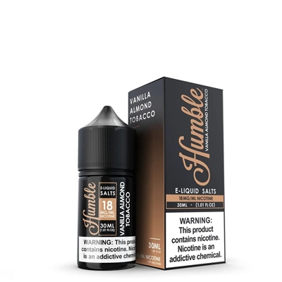 Vanilla Almond Tobacco Nic Salt  by Humble Juice Co. 30mL Vapor $12.50 - EJuice Connect