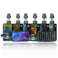 VooPoo DRAG 2 Kit - 177W TC Mod Kit + Uforce T2 Tank $59.95 - EJuice Connect