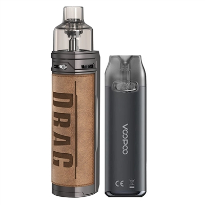 VooPoo DRAG X 80W Pod Mod + VMATE 17W LTD Ed Kit - EJuice Connect