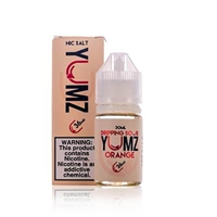 Yumz Orange Nic Salt by Dripping Sour E-Liquid - 30ml $9.89 - EJuice Connect