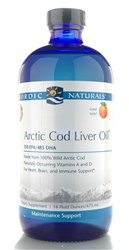 Artic Cod Liver Oil Orange