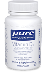 Vitamin D3-5000 iu 120 caps