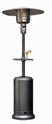 Hammer Silver Patio Heater with Table