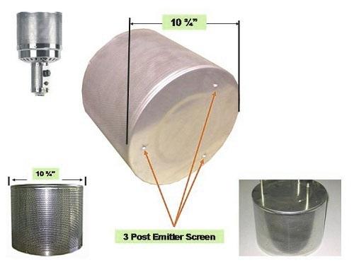 Tall Heater Complete Burner 2 1 2 Pole
