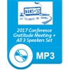 2017 All 3 Speakers & Gratitude Meeting