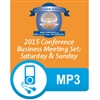 2015 Conference All Business Meetings mp3