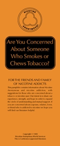 Are you Concerned about Someone who Smokes or Chews Tobacco?
