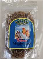 DRIED MEAL WORMS -1 OZ