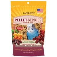 Pellet-Berries for Parakeets 10 oz