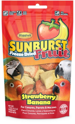 .5 OZ SUNBURST FREEZE DRIED STRAWBERRY BANANA