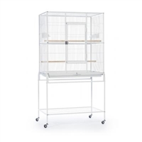 F047 Wrought Iron Flight Cage w/ Stand