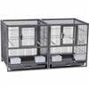 F075 Hampton Deluxe Divided Breeder Bird Cage