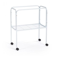 447 Cage Stand White