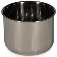 1244 Stainless Steel Deep Replacement Bird Cage Cup